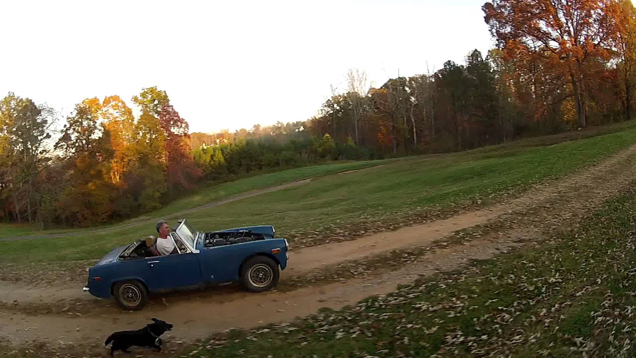 MG midget-katana swap: test ride