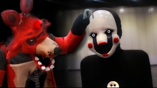 FNaF COSPLAY - Marionette at MCM Comic Con London (Five Nights at Freddy