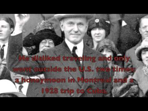 Facts About Calvin Coolidge