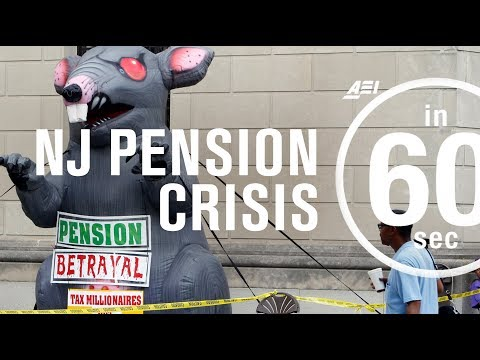 The New Jersey pension crisis | IN 60 SECONDS