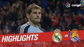 Resumen de Real Madrid vs Real Sociedad (4-1) 2010/2011