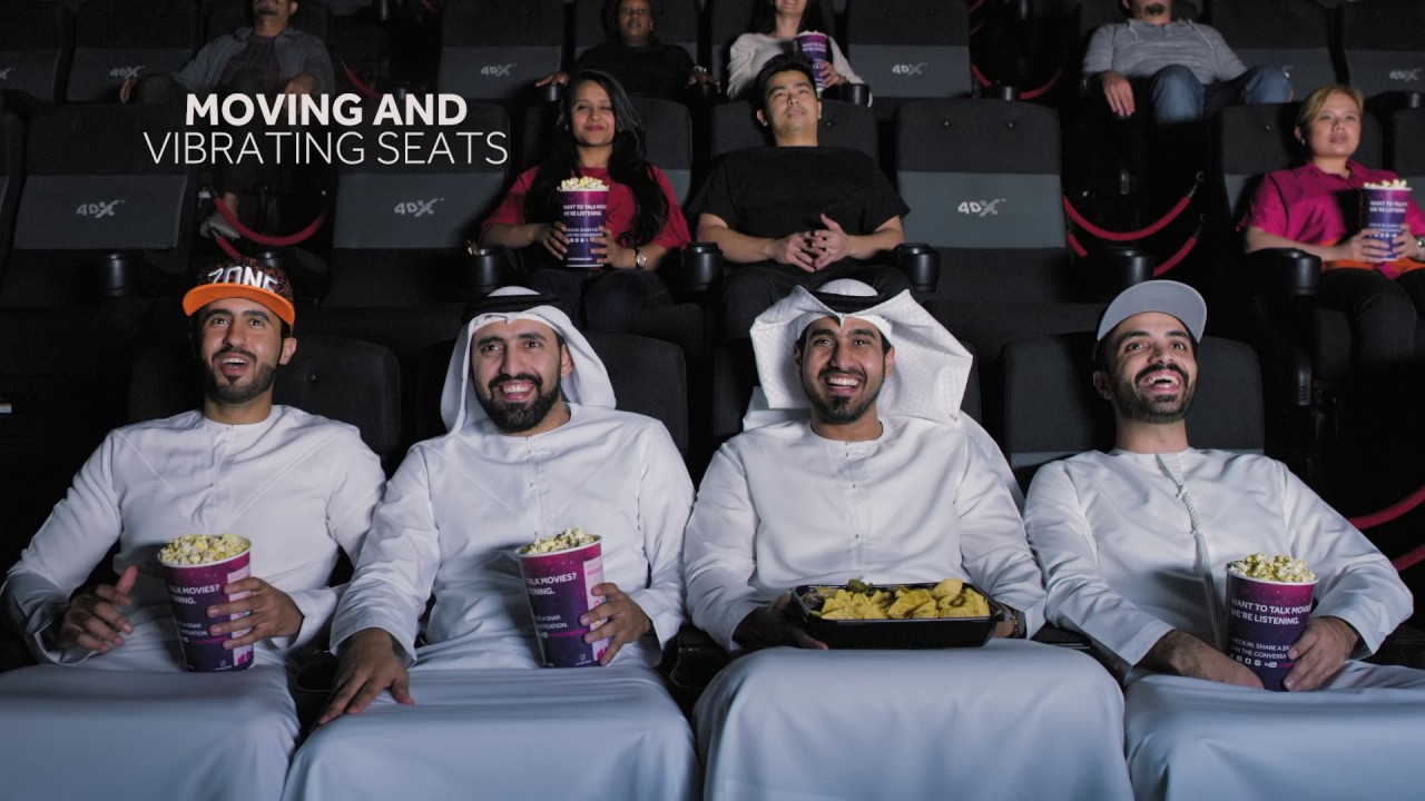 4DX at VOX Cinemas   The Absolute Cinema Experience