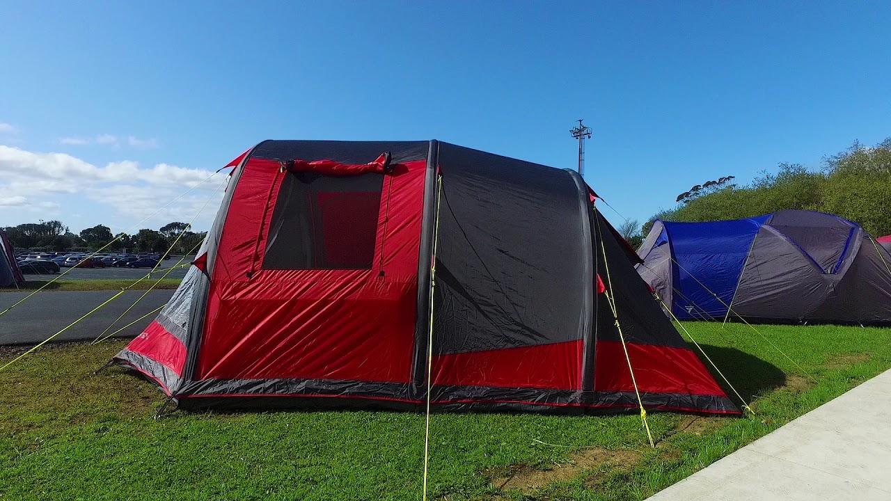 Torpedo7 Air Series 5 Tent & Torpedo7 Air Series 5 Tent - YouTube