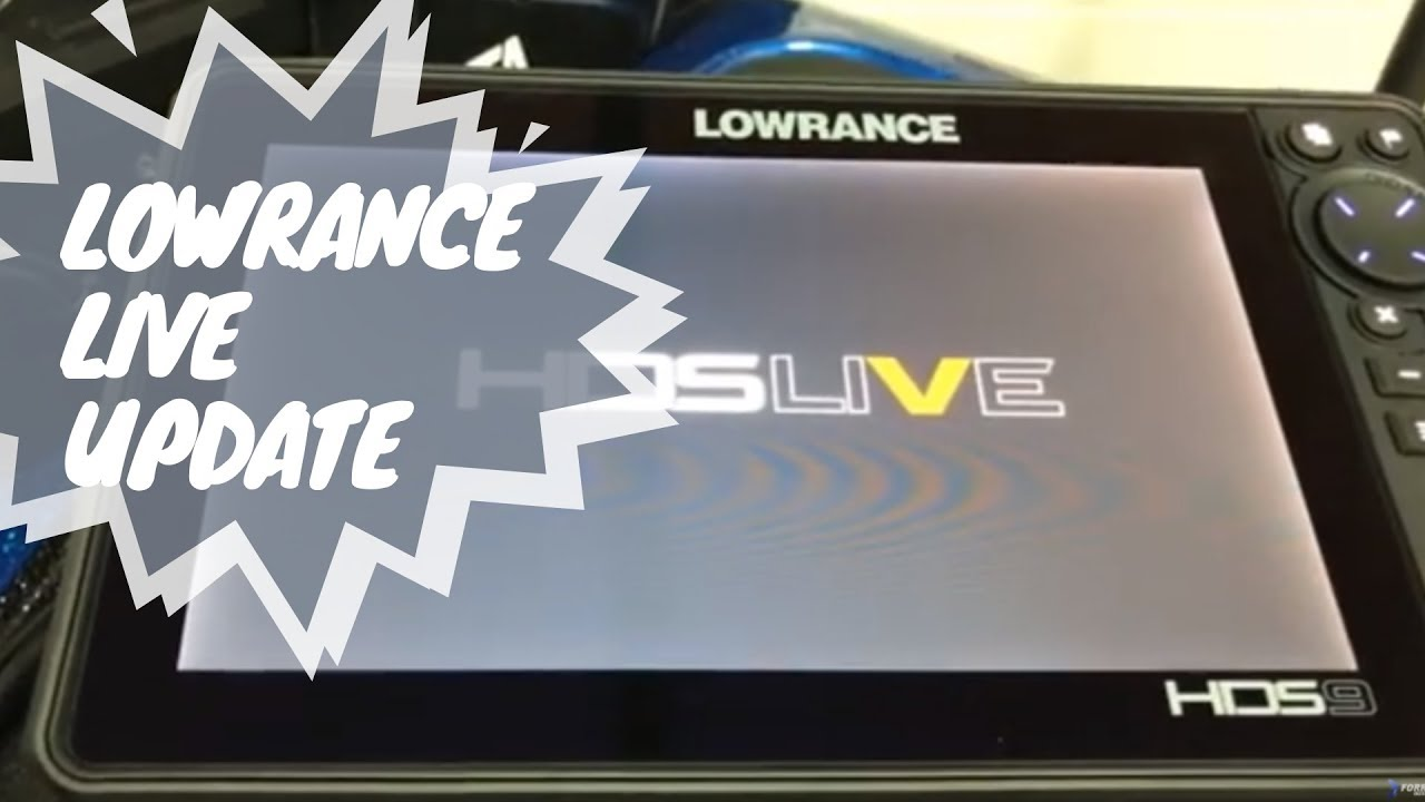 Lowrance HDS Live Software Update