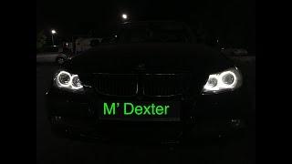 Inlocuire becuri Angel Eyes BMW E90