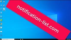 notification-list.com remove
