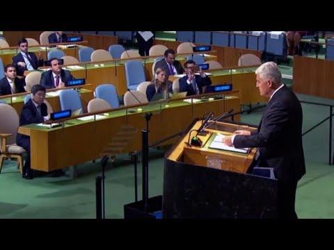 Čović u govoru u UN-u tražio podršku izmjenama Izbornog zakona