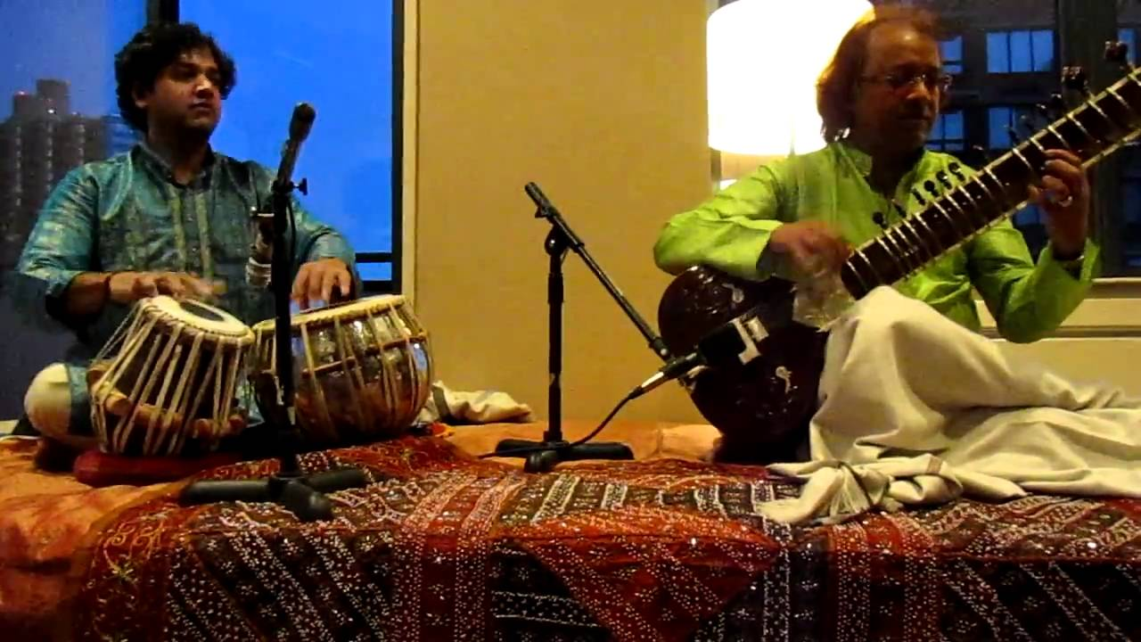 Nayan Ghosh ( Sitar) with Nitin Mitta ( Tabla) - Raag Puriya Kalyan.