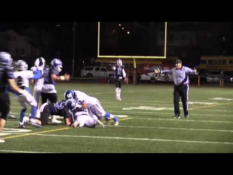 HS Football Referee Accidentally Hit Sticks Player