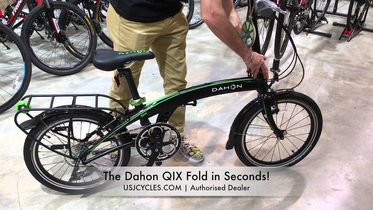 Dahon Qix Folding Bike Authorised Dealer In Malaysia Youtube