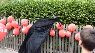 Klappergaul will Luftballon