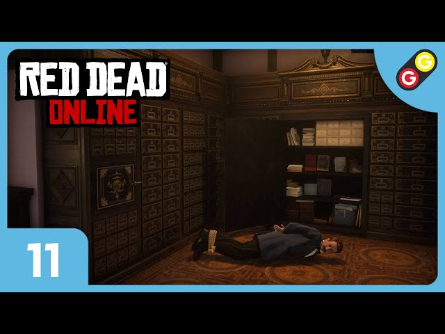 Red Dead Online #11 On braque une banque ! [FR]