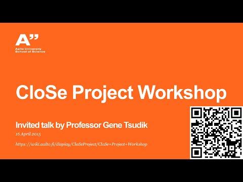 CloSe project workshop 2015 - Tsudik