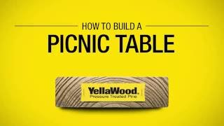 YellaWood® Picnic Table Project Plan