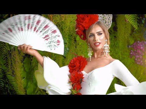 Celebrating Miss Universe Spain 2018 Angela Ponce