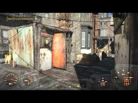 Fallout 4 Hangman's ally Settlement, Floating brahmin