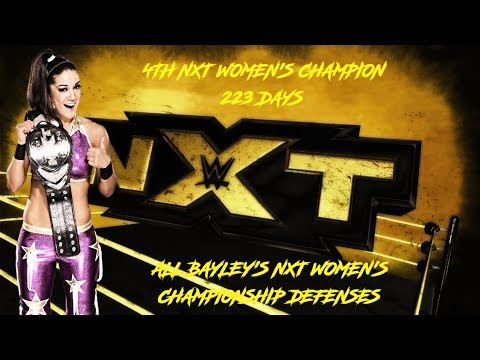 All Bayley's NXT Women's Championship Defenses