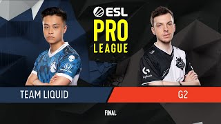 CS:GO - G2 Esports vs. Team Liquid [Inferno] Map 4 - Final - ESL Pro League Season 9