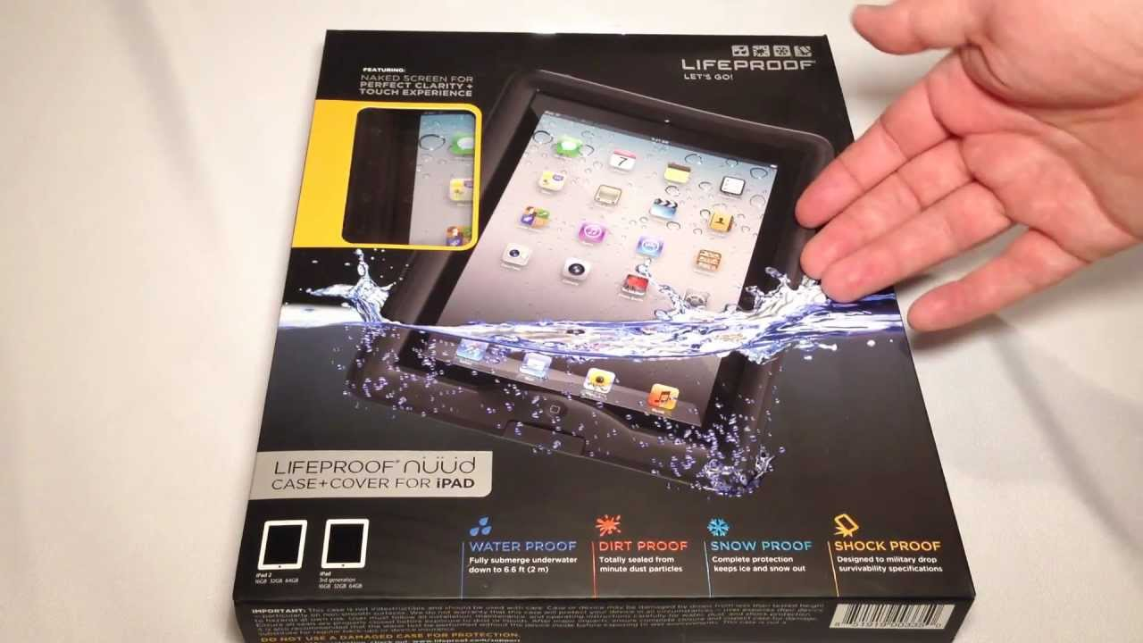 cheap for discount 22846 a28e8 Lifeproof nuud Case for iPad Review