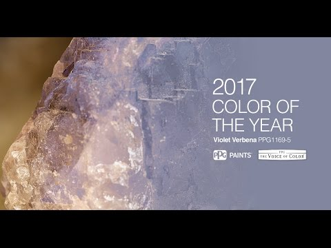 Color of the year 2017 how ppg selects the paint color Paint color of the year