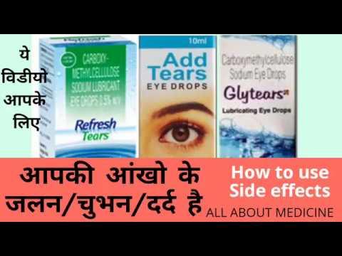 Carboxymethylcellulose eye drop (in hindi/urdu) complete introduction MediTalks # 31