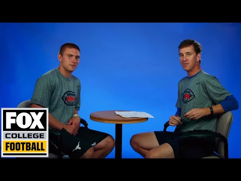 The Manning Minute featuring Shane Buechele | FOX COLLEGE FOOTBALL