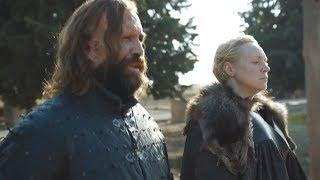 Reencuentro entre El Perro y Brienne - Tyrion, Podrick y Bronn | Juego de Tronos 7x07 Español HD