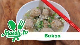 Bakso Sapi Kuah - Indonesian Meatball Recipe | Resep #172