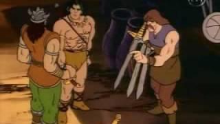 vuclip Conan l'aventurier  générique en français