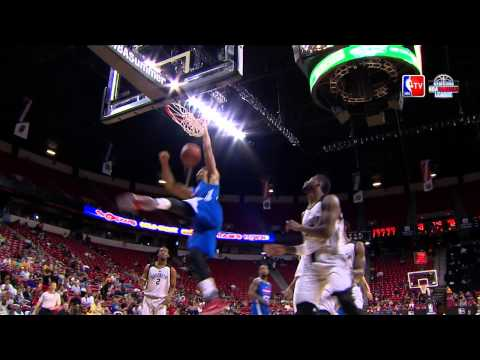 2015 NBA Summer League: Top 10 Dunks