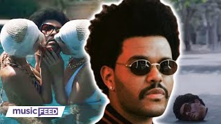 The weeknd dropped his nsfw music video for 'too late' thursday, and let's just say left some fans speechless, surprised, others plai...
