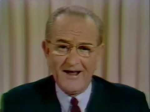 CBS NEWS SPECIAL REPORT - PRESIDENT JOHNSON ANNOUNCES HE WILL NOT RUN (3-31-1968)