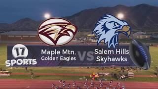 Maple Mtn vs Salem Hills Football | Oct 16, 2019