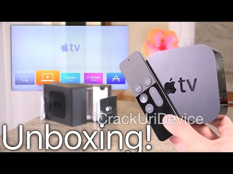 Apple TV 4th Gen (New 2015): Unboxing and Setup Review