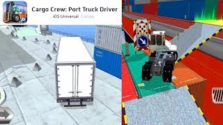 Cargo Crew: Port Truck Driver - 5 Levels Gameplay iOS HD