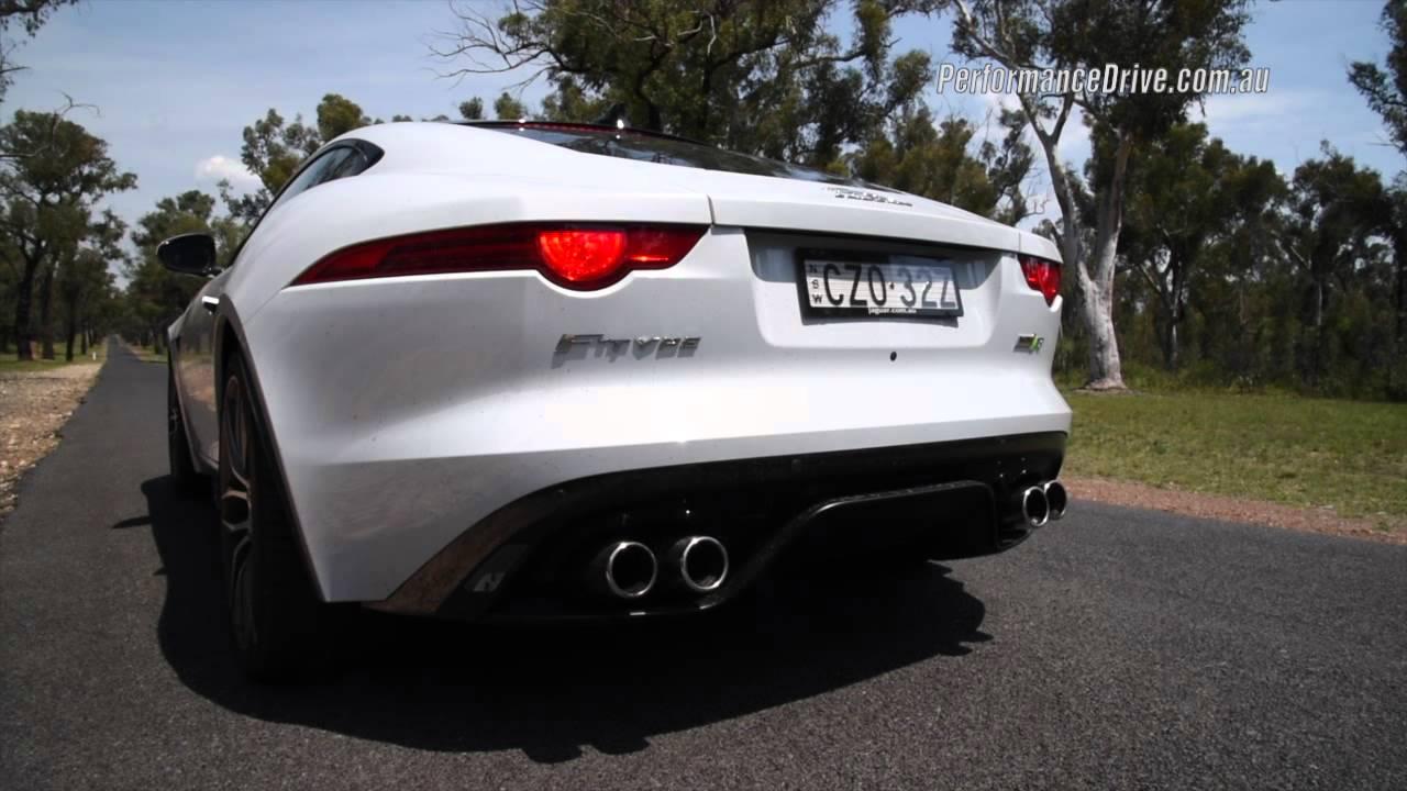 2016 Jaguar F Type R AWD 0 100km/h U0026 Engine Sound