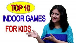 10 Awesomely Fun Indoor Games/ Top 10 Indoor Game For Kids..
