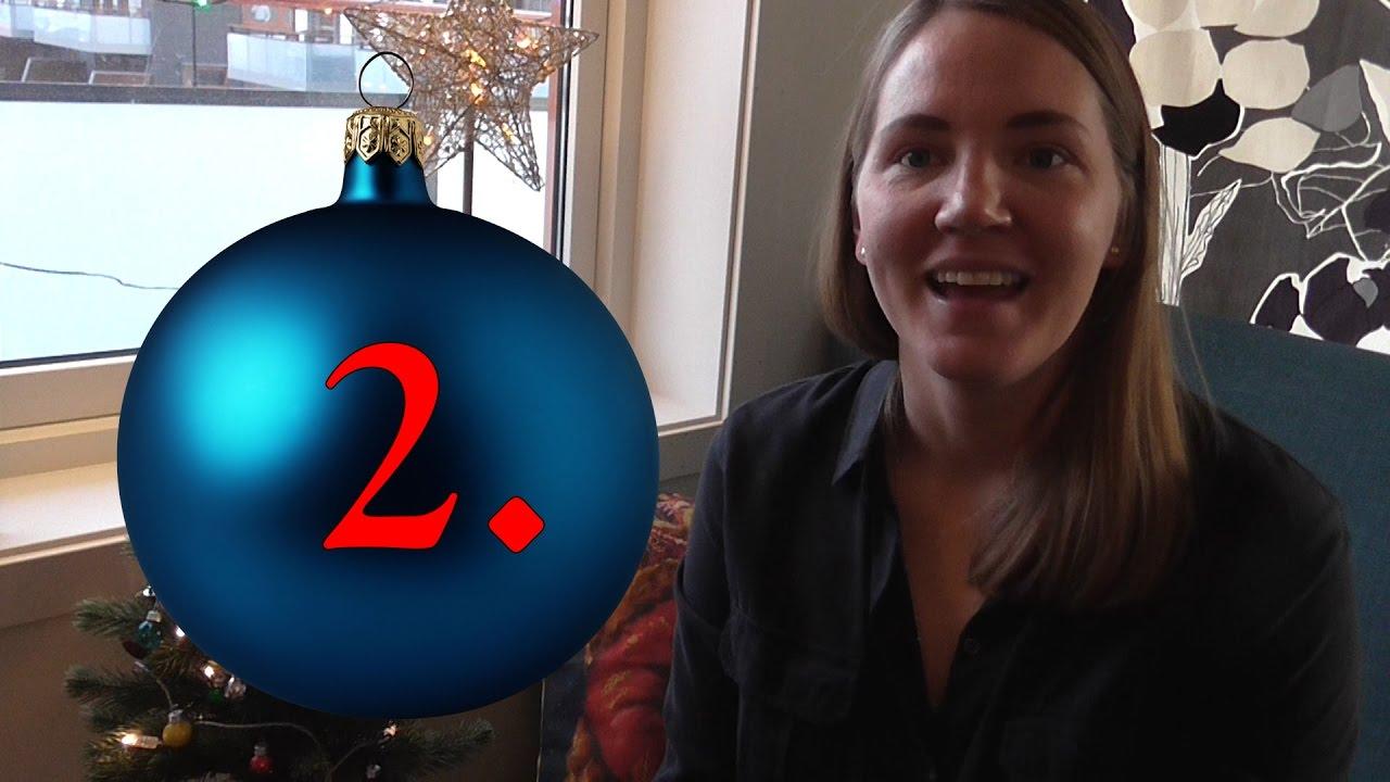 Julekalender 2016 - 2. Desember - Julepynt