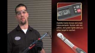 GearWrench® Electronic Torque Wrench With Angle [85073 & 85074]