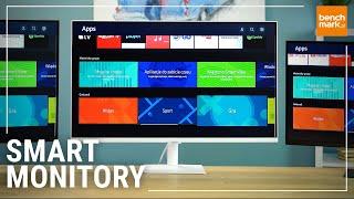 Monitor ze Smart TV? Sprawdzamy trzy Smart Monitory Samsung!