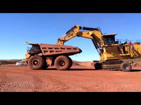 Sleipner E310 Beeshoek Mine Assmang South Africa   Delivery day   new CAT6030