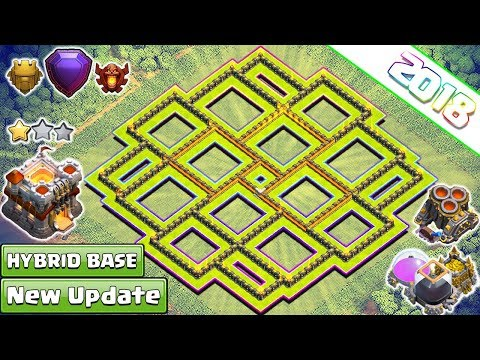 New Best Th11 Strong Defensive Legend Base 2018 | th11 Trophy/Farming Base Anti Everything – COC
