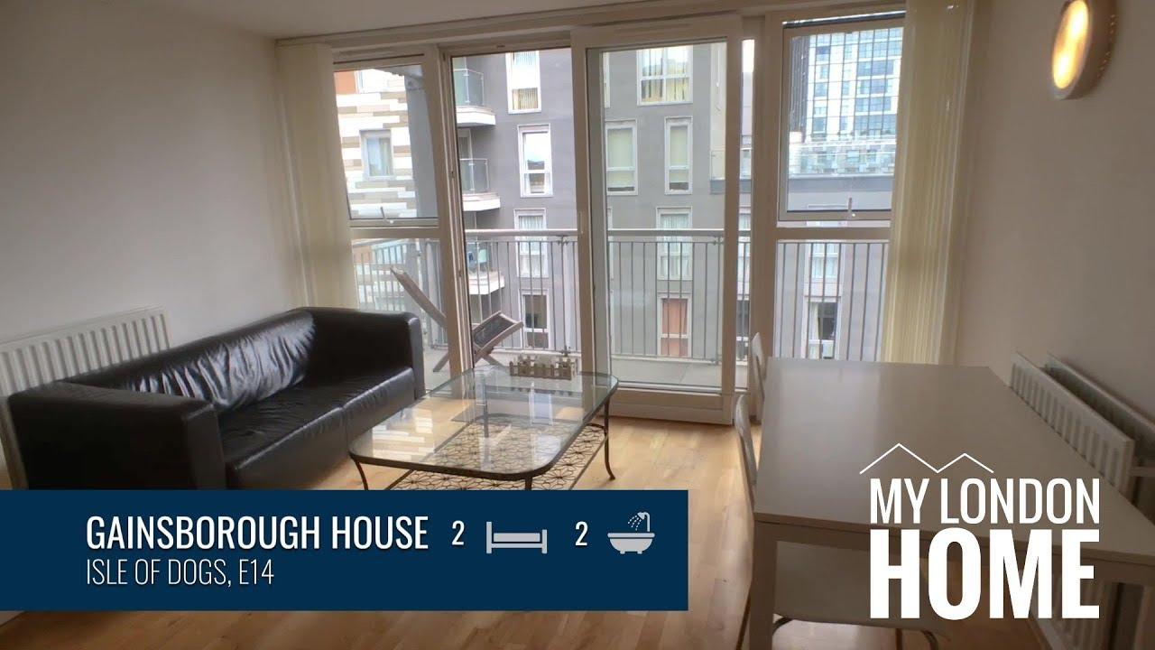 Gainsborough House, Canary Wharf, E14 - 2 Bedroom ...