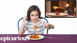 Kids Try Famous Foods From Movies, From Harry Potter to Ratatouille