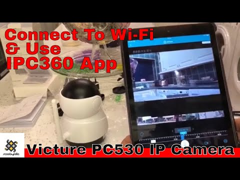 How To Use Victure PC530 IP CCTV Camera & Connect To Wi-Fi