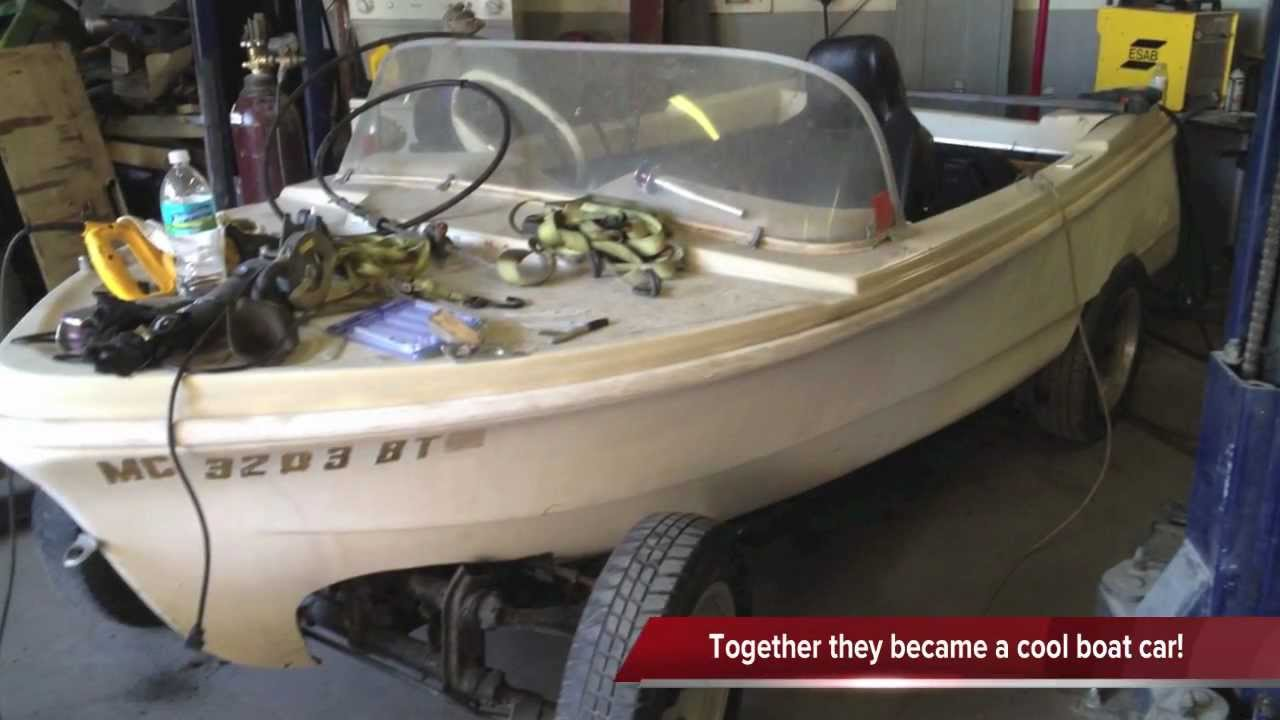 Volkswagen Boat Car In The Making Youtube