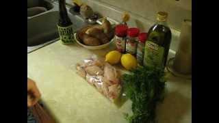 Lemon Pepper Chicken Wings & Fries - My Way Pt1