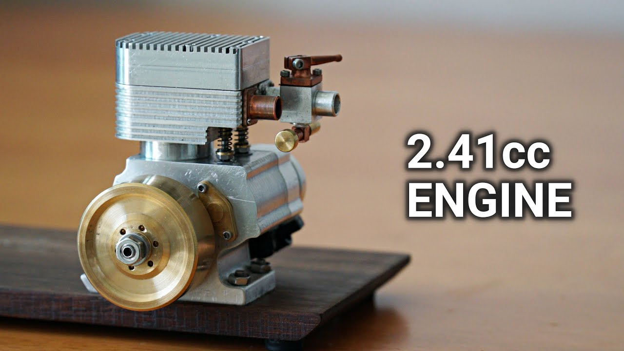 Making a 4 Stroke Engine. Episode 6 - Final Assembly and First Run