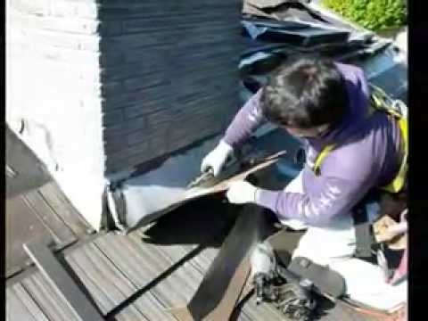 Eco Roofing Roofs Made From Recycled Tires Youtube