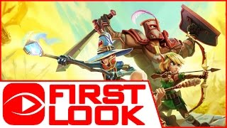 Dungeon Defenders 2 - Gameplay First Look